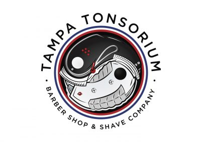 Tampa Tonsorium Barber Shop Logo