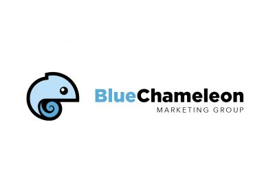 Blue Chameleon Marketing Group Logo