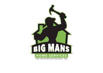 Big Mans Home Services Logo